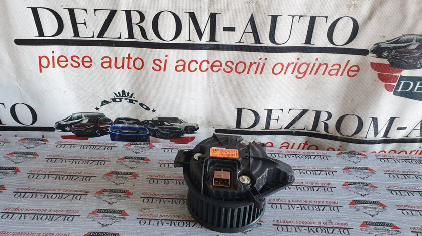 Motoras aeroterma / Ventilator habitaclu Audi A4 B6 2.5 TDI quattro 180 cai cod piesa : 8E1820021E