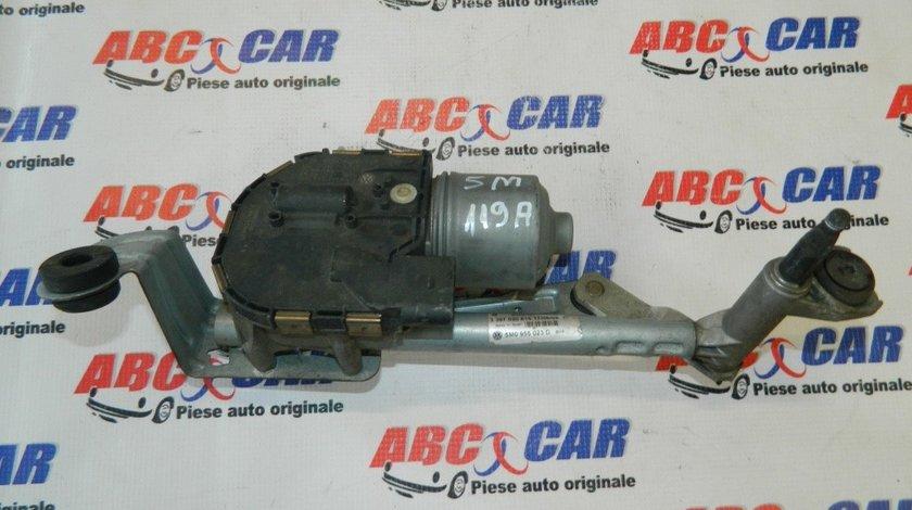 Motoras ansamblu stergator VW Golf Plus cod: 5M0955119A