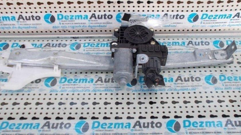 Motoras cu macara stanga fata Ford Mondeo 3, 2000-2007