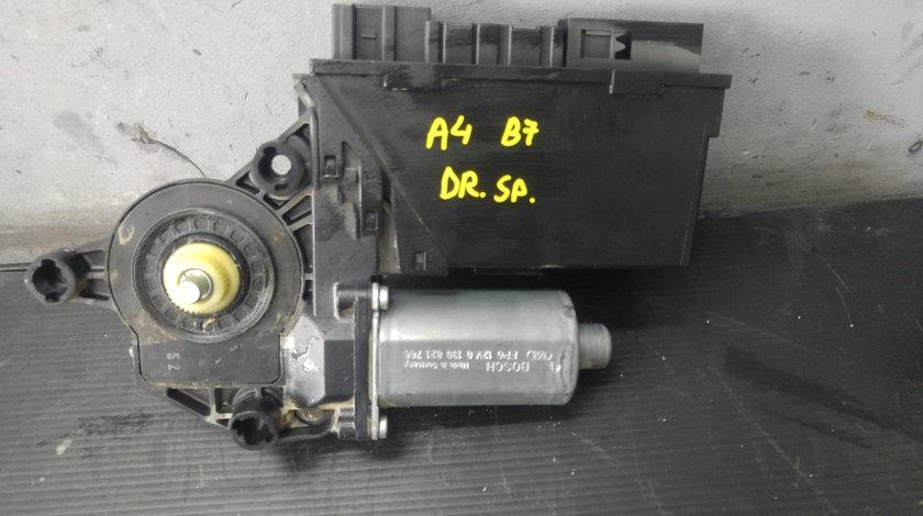 Motoras cu modul macara usa dreapta spate audi a4 b7 8e0959802a