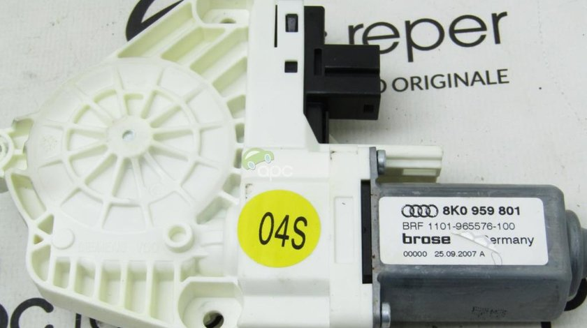 Motoras Geam Audi A4 8K B8 Original cod 8K0959801