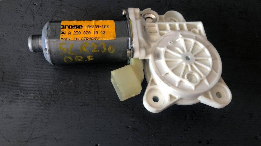 Motoras geam dreapta fata mercedes sl r230 500 2001-2006 a2308201042