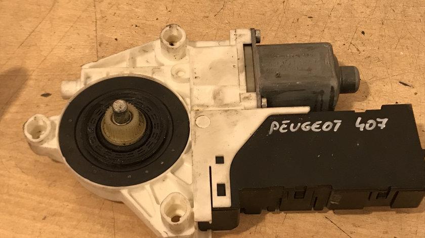 Motoras geam electric dreapta fata peugeot 407 2004 - 2009 cod: 0130822201