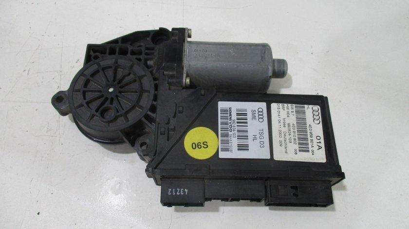 Motoras geam stanga fata Audi A8 an 2004-2009 cod 4E0910802