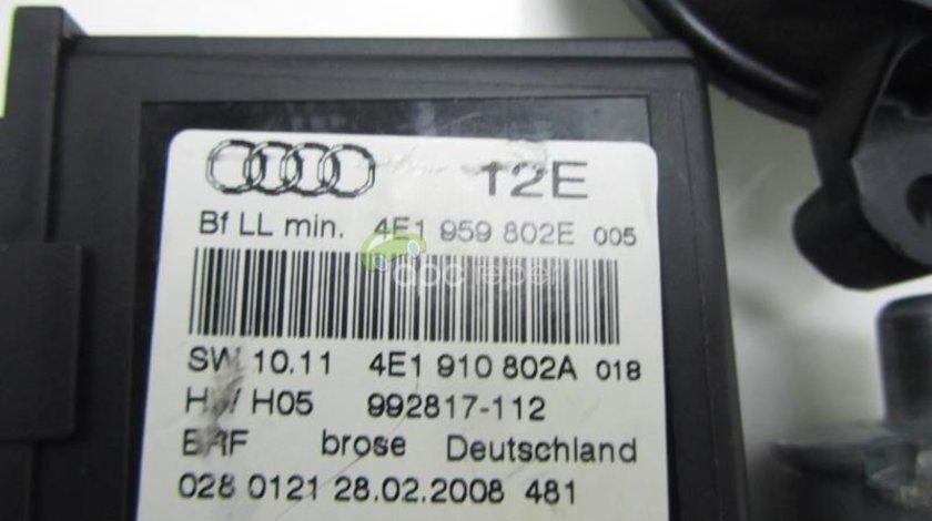 Motoras macara dreapta fata - spate Audi A8 4E - 4E0959802E