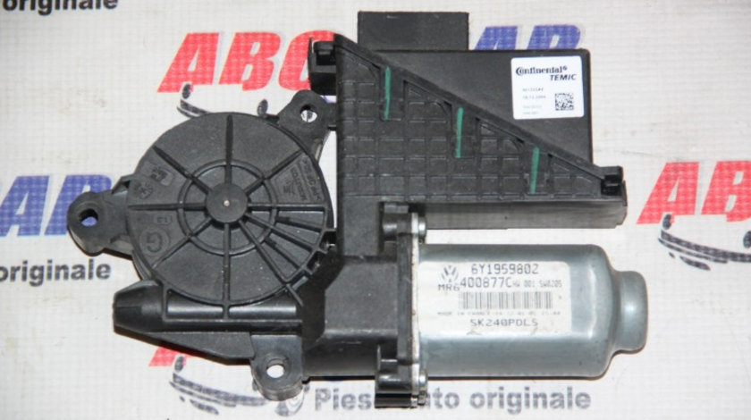 Motoras macara dreapta fata, VW Polo 9N 2003-2009 ,Cod: 6Y1959802