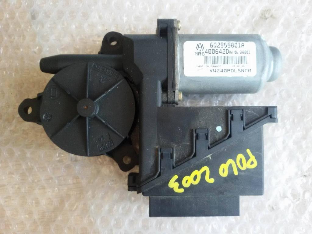 Motoras macara dreapta fata vw polo skoda fabia 6q2959801a