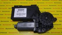 Motoras Macara Geam Dreapta Spate Vw Phaeton, 3D09...