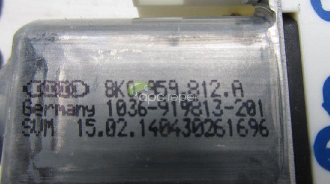 Motoras macara geam electric dreapta Original Audi cod 8K0959812A