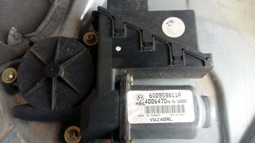 Motoras macara geam electric dreapta spate vw polo 9n skoda fabia seat ibiza 6q0959811a