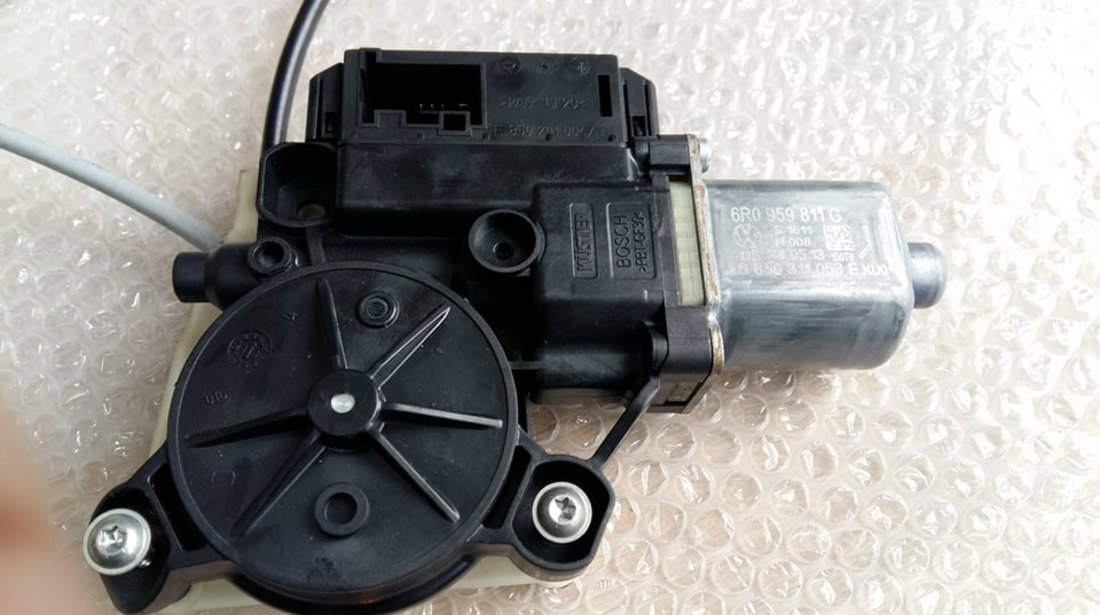 Motoras macara geam electric usa stanga spate vw polo 6r 2011 4 usi 6r0959811g