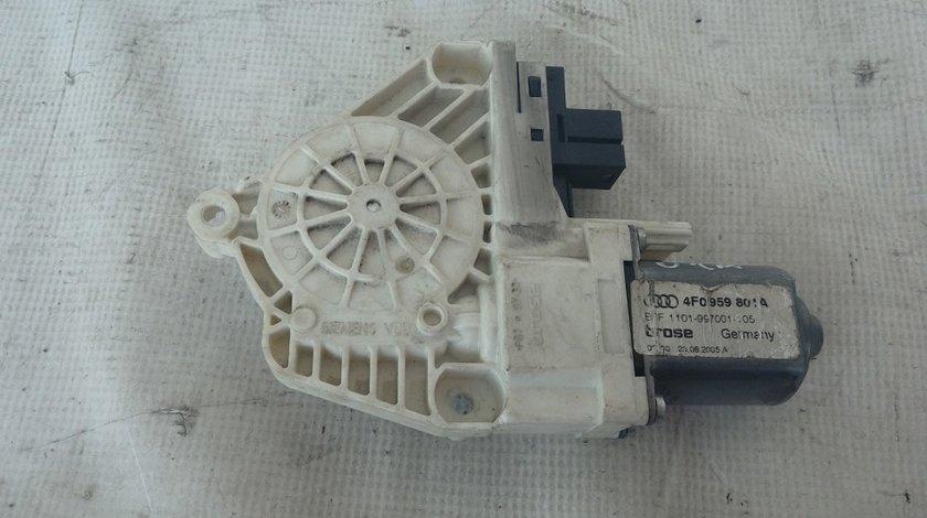 Motoras macara geam stanga spate Audi A6 4F An 2004-2010 cod 4F0959801A