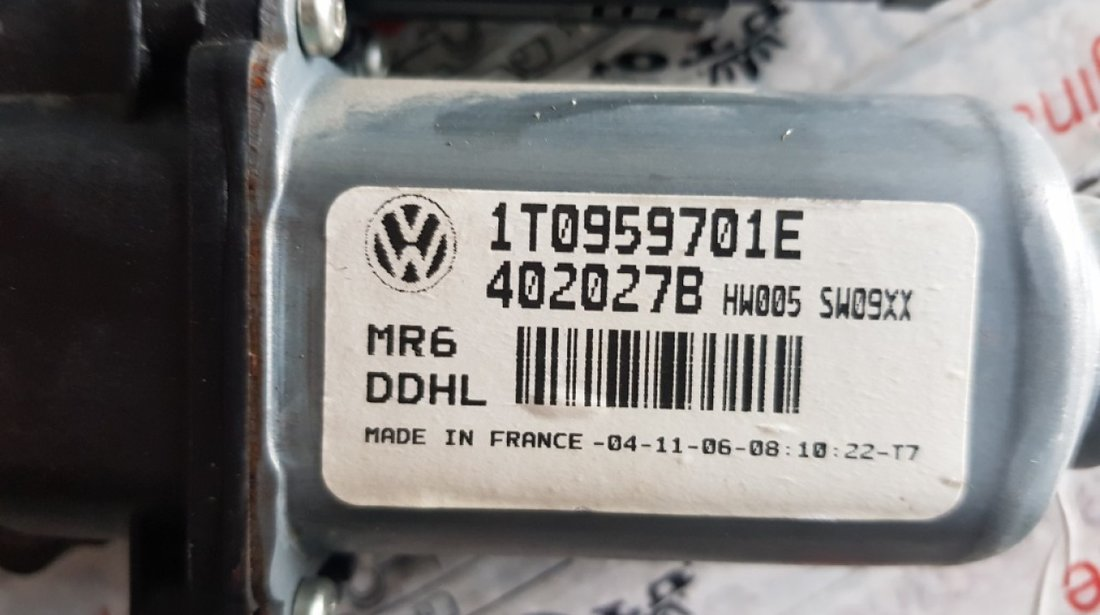 Motoras macara geam usa stanga fata Skoda Octavia 2 1t0959701e 1K0959793K