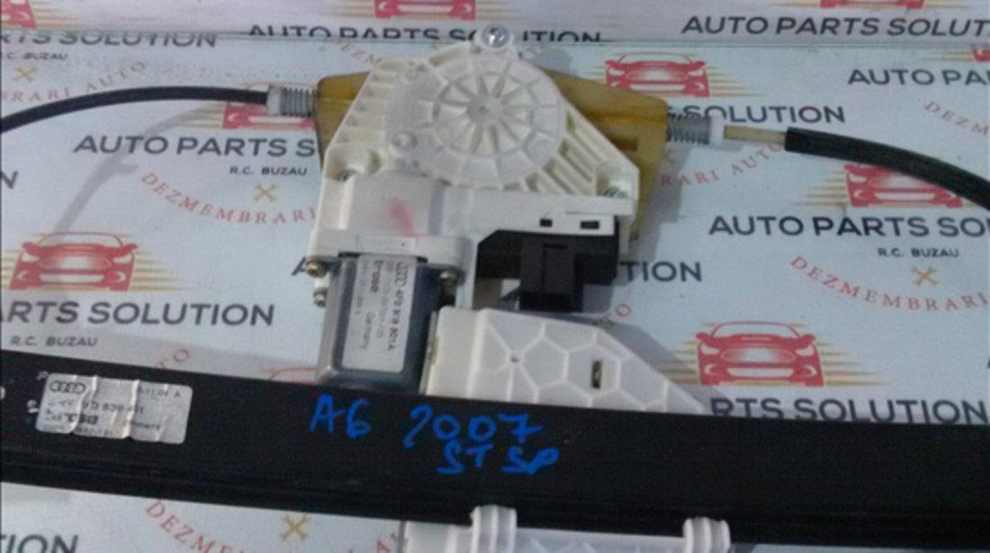 Motoras macara geam usa stanga spate AUDI A6 2005-2010 (4F)