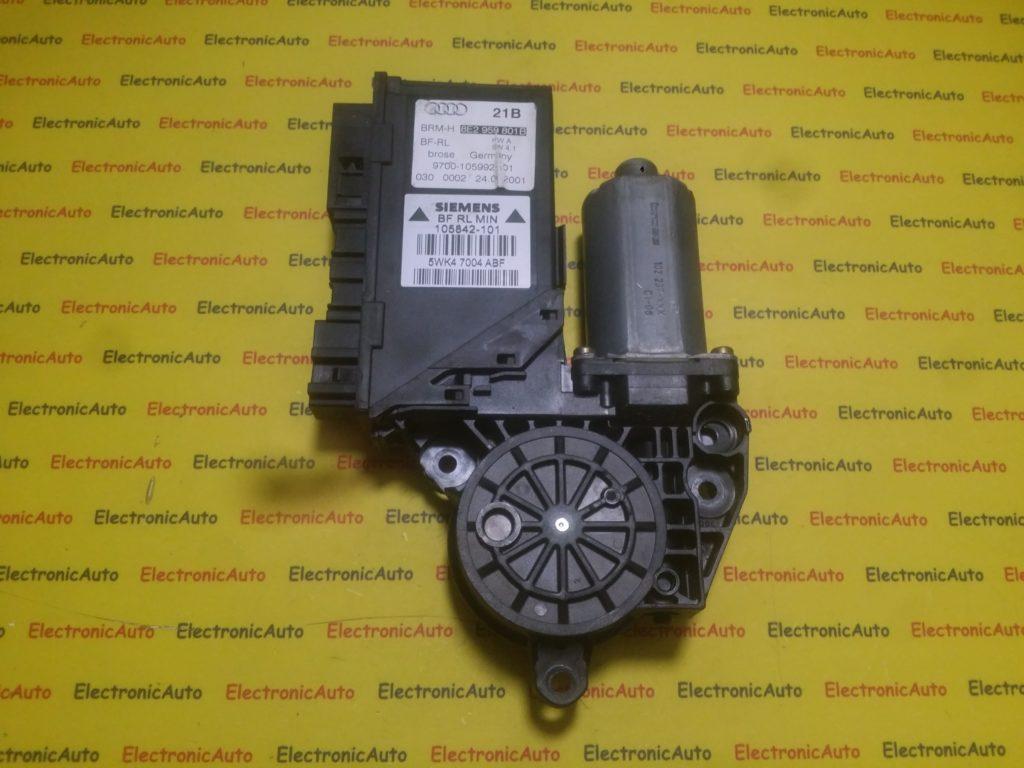 Motoras macara stanga fata Audi A4 8E2959801B, 5WK47004ABF (6WK5)