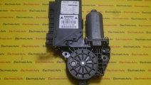 Motoras macara stanga fata Audi A4 8E2959801B, 5WK...