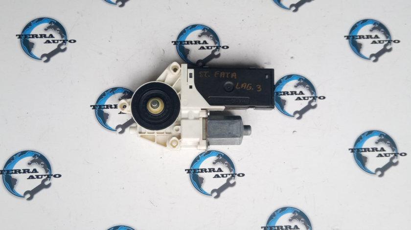 Motoras macara stanga fata Renault Laguna 3 2.0 DCI 110 KW 150 CP cod motor M9R