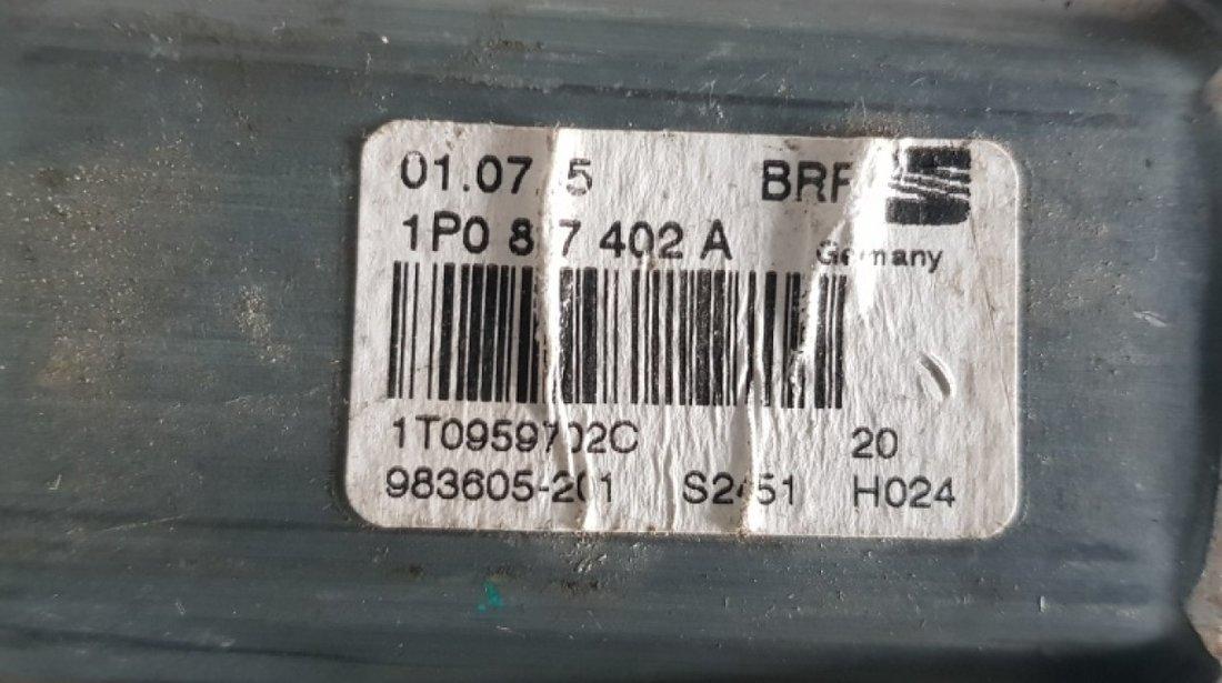 Motoras macara stanga fata Skoda Octavia 2 1t0959702c