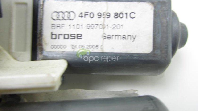Motoras macara stanga fata - spate Audi A6 4F / Q7 4L 4F0959801C