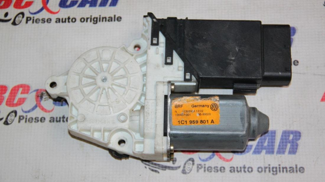 Motoras macara stanga fata, VW Passat B5 1999-2005 ,Cod: 1C1959801A