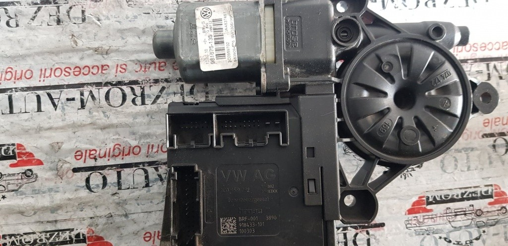 Motoras macara stanga fata VW Passat B7 cod 3aa837461