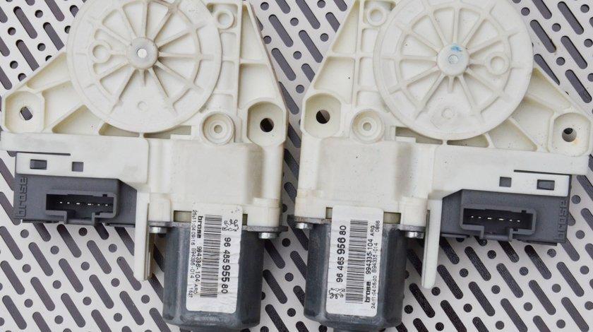 Motoras macara stanga sau dreapta spate Peugeot 407 / 9646595680