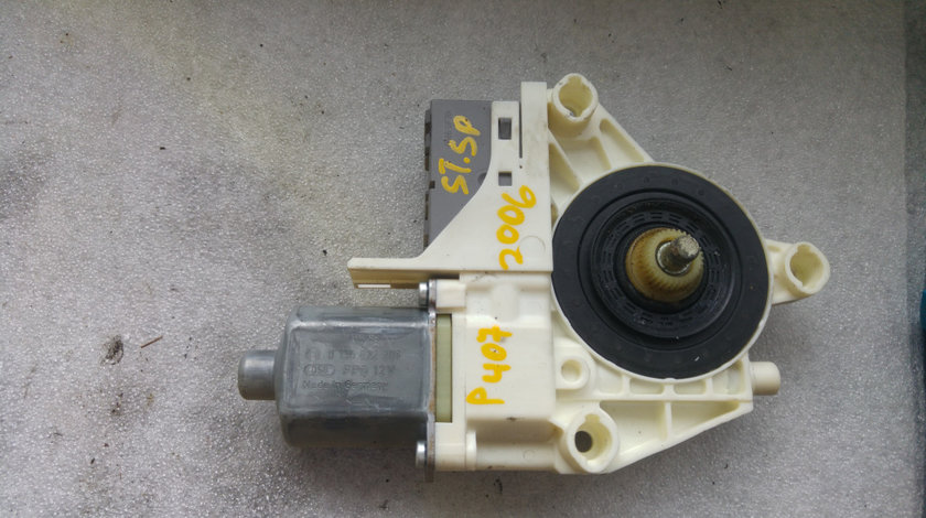 Motoras macara stanga spate peugeot 407 9646595680