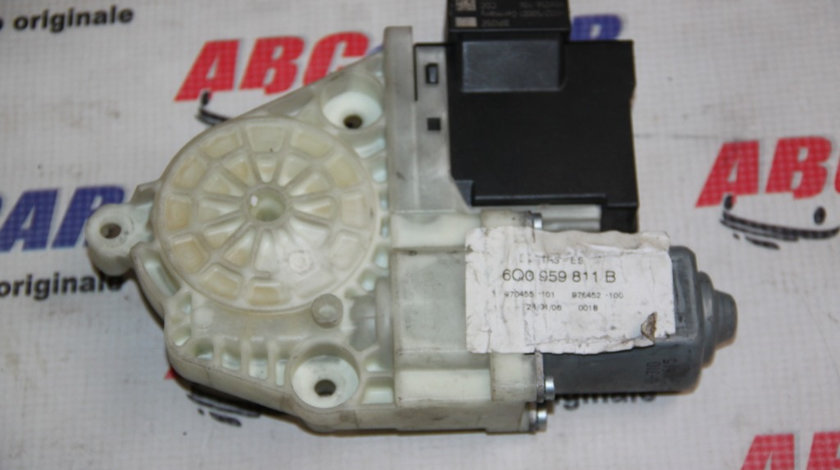 Motoras macara stanga spate, VW Polo 9N 2000-2008 ,Cod: 6Q0959811B