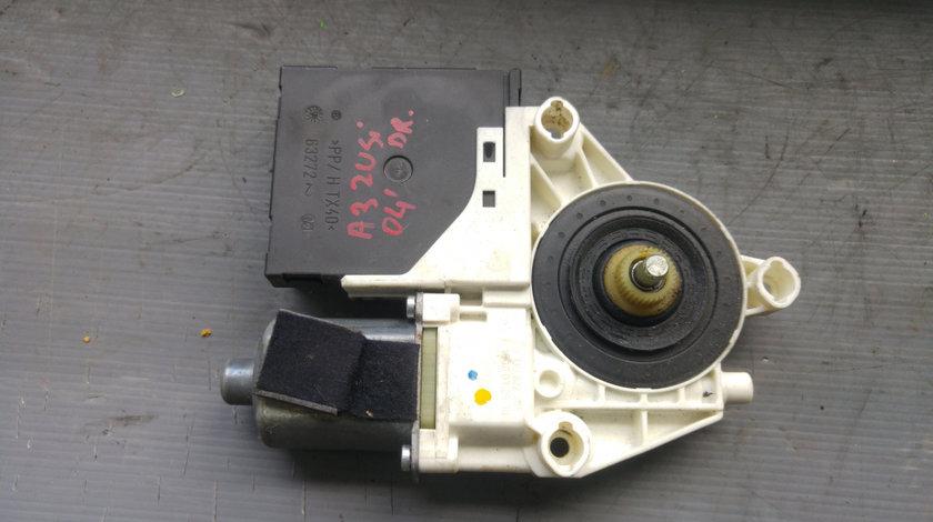 Motoras macara usa dreapta audi a3 8p 2 usi 8p0959802 e840311202