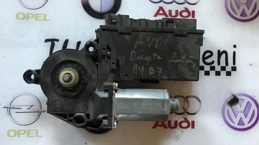 Motoras macara usa dreapta fata Audi A4 B7