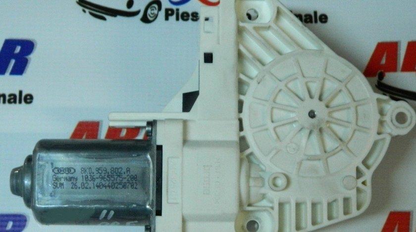 Motoras macara usa dreapta fata Audi A4 B8 8K 2008-2015 Cod: 8K0959802A