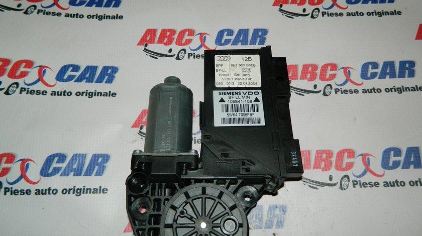 Motoras macara usa dreapta fata Audi A4 cod: 8E1959802B model 2004