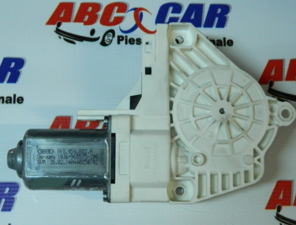 Motoras macara usa dreapta fata Audi A6 4F C6 2004-2011 Cod: 8K0959802A