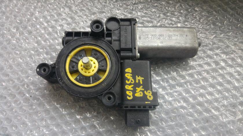 Motoras macara usa dreapta fata opel corsa d 72005001