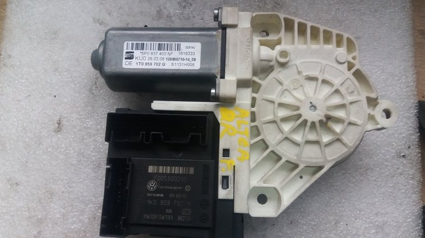 Motoras macara usa dreapta fata seat altea 1t0959702g 1k0959792m