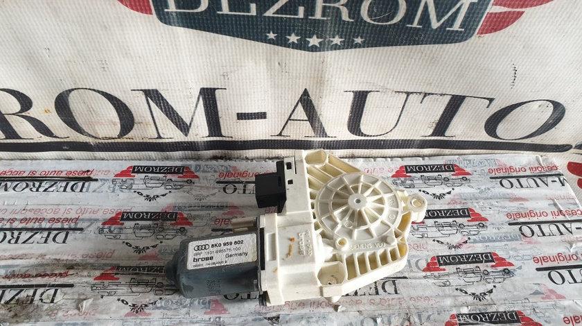 Motoras macara usa dreapta fata Skoda Superb II cod piesa : 8K0959802