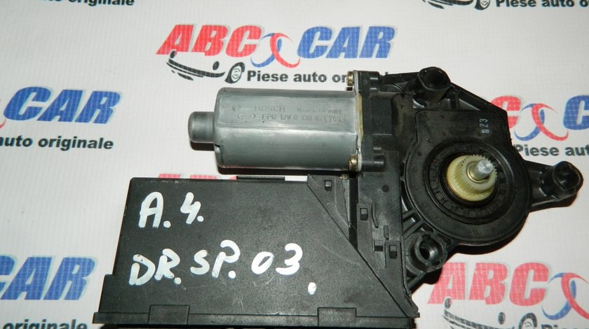 Motoras macara usa dreapta spate Audi A4 B6 cod: 0130821766