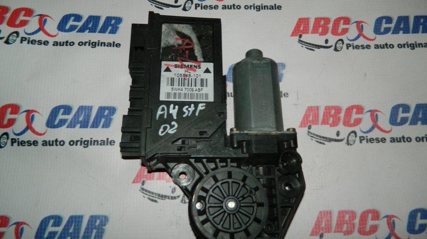 Motoras macara usa stanga fata Audi A4 B6 cod: 105848-101