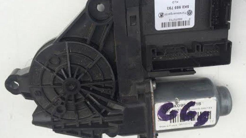 Motoras macara usa stanga fata Skoda Octavia 2 1Z3 2004 - 2013 cod 5K0959793