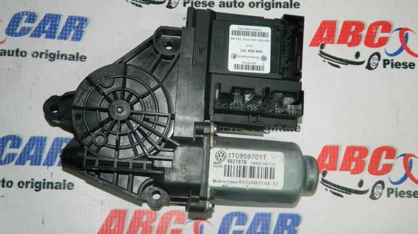 Motoras macara usa stanga fata VW Caddy (2K) 2004-20155K0959793,1T0959701T