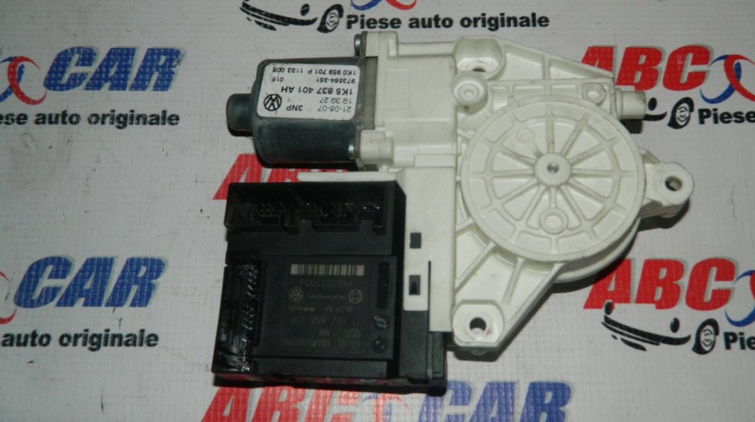 Motoras macara usa stanga fata VW Jetta cod: 1K0959793L / 1K5837401AH