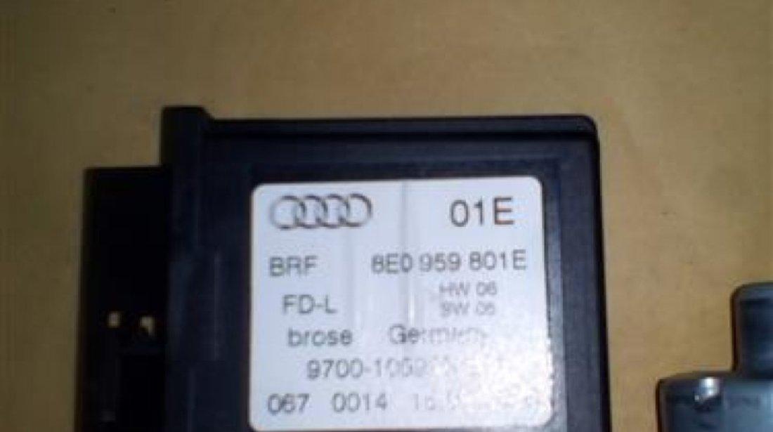 Motoras macara usa stanga spate Audi A4 B6/B7 S-Line An 2001-2008 cod 8E0959801E