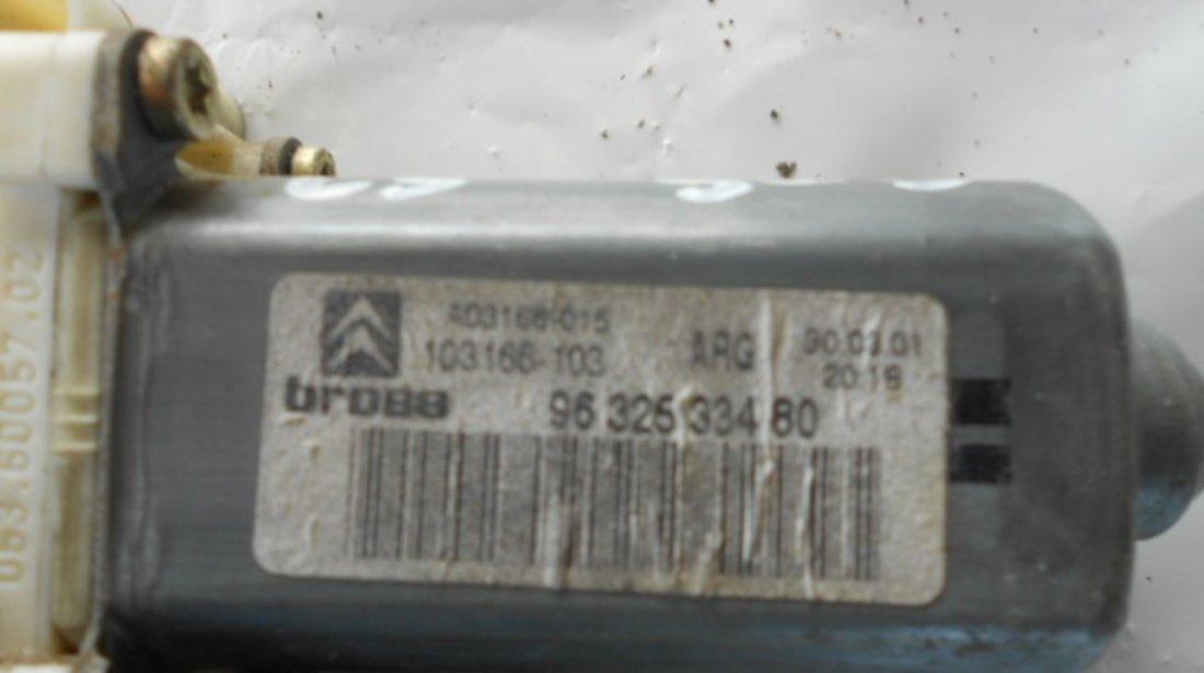 MOTORAS MACARA USA STANGA SPATE COD 9632533480 CITROEN C5 1 FAB. 2000 - 2004