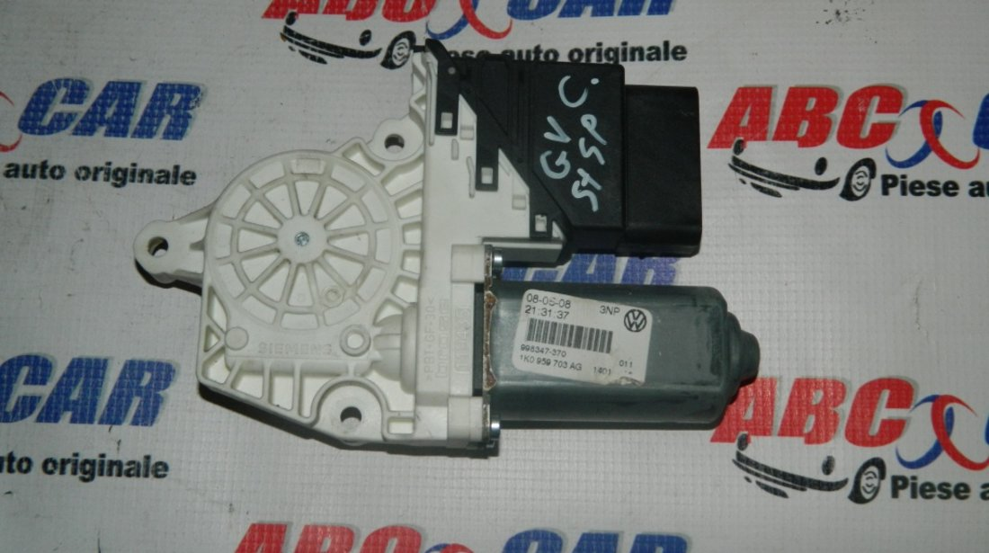 Motoras macara usa stanga spate VW Golf 5 Variant cod: 1K0959703AG