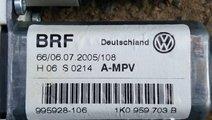 Motoras macara usa stanga spate VW Touran 1K095970...