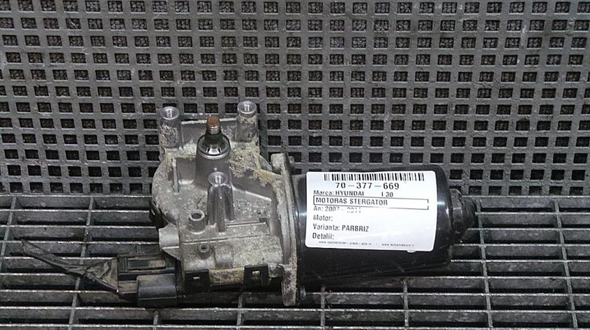 MOTORAS STERGATOR PARBRIZ HYUNDAI i30 CW (FD) 1.4 benzina (2007 - 10-2012-06)