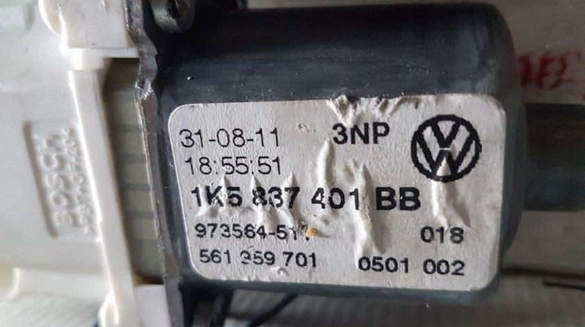 Motoras usa stanga fata 1K5837401BB 3C0959793B vw audi seat skoda