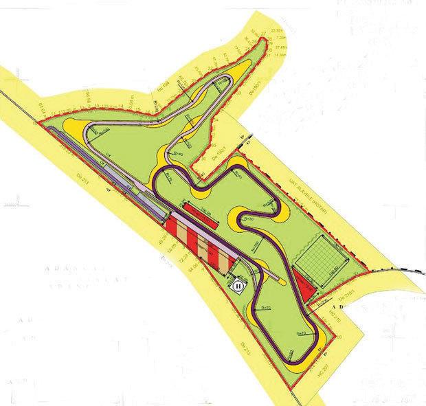 Motorpark Romania: maine incep lucrarile la primul circuit auto-moto profesionist din Romania
