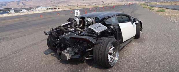 Motorul V10 a fost primul la care a renuntat. Acum conduce un Huracan V8 twin-turbo cu cutie manuala