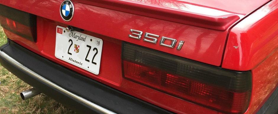 Motorul V8 de Mustang, el l-a pus pe un URS din '86. Acum conduce singurul 350i din lume